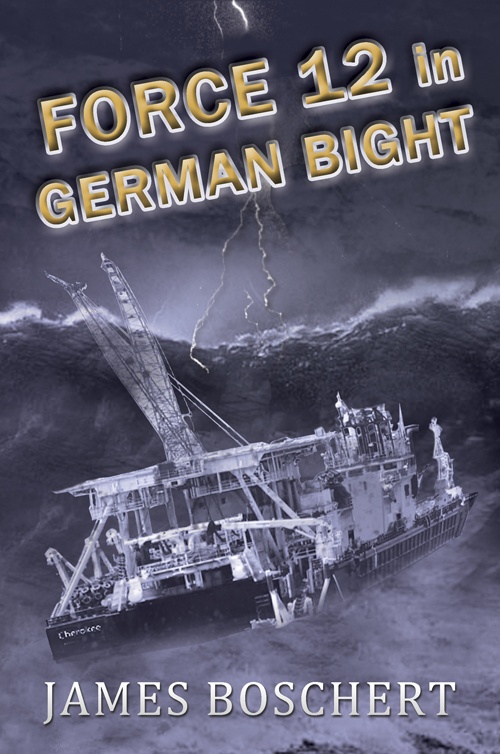 Force 12 in German Bight by James Boschert